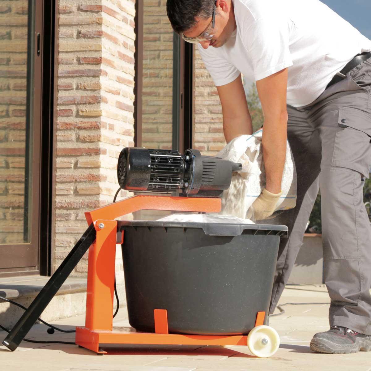 Rubimix-50N Mortar Mixer cover