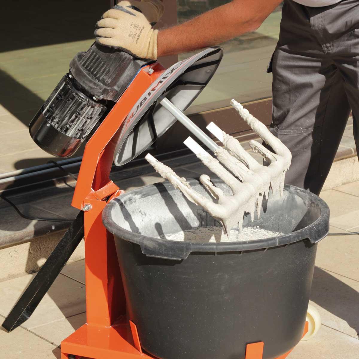 Rubimix-50N Mortar Mixer paddle
