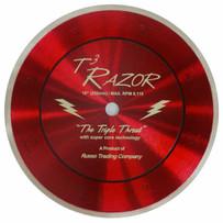t3 10in razor diamond blade