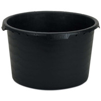 60202 Rubi Replacement Rubber Bucket for Rubimix-50 Hard plastic bucket designed for mixing any material with any mixer