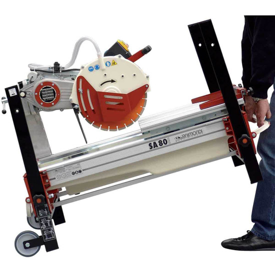 portable brick and block saw raimondi