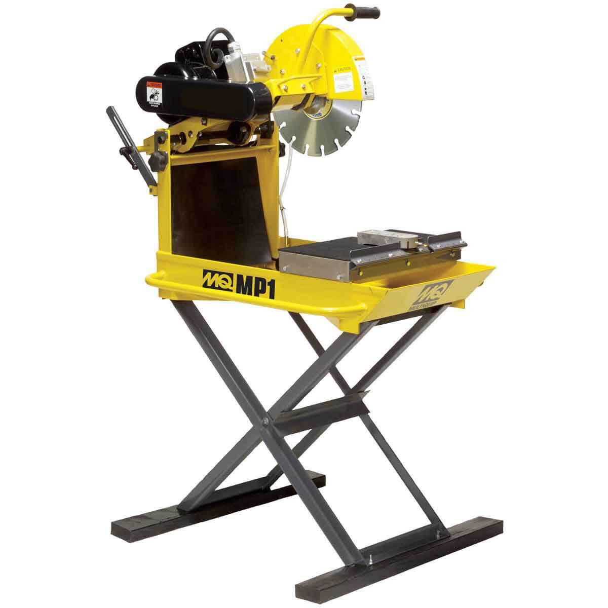 multiquip masonpro 14in saw quick and easy