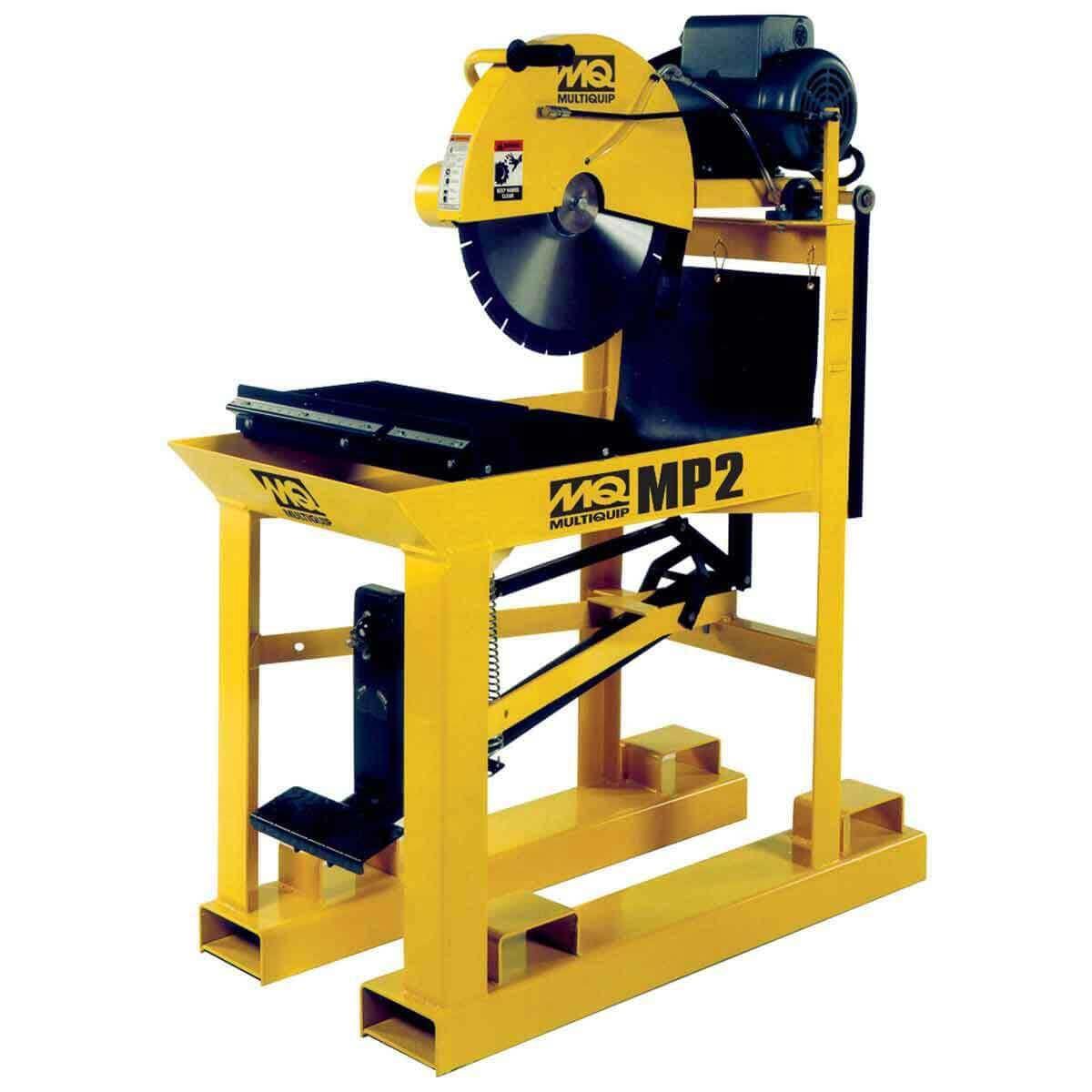 masonpro 2 multiquip 20in block saw
