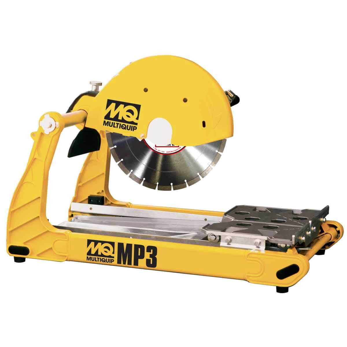 multiquip mp3 compact 14in masonry saw