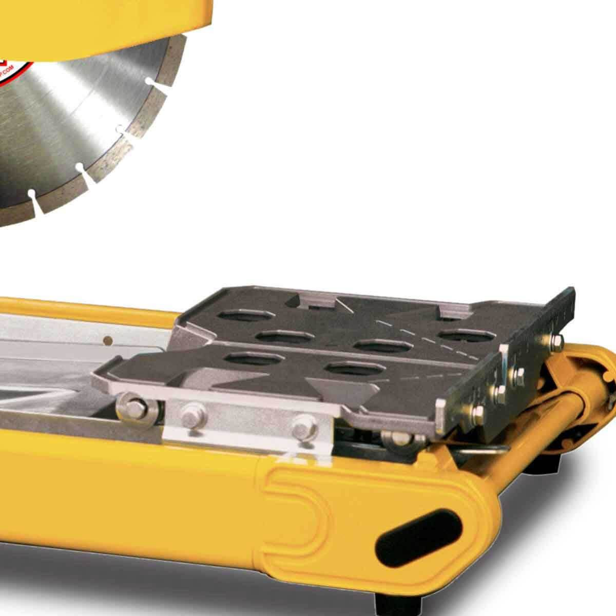 mp3 compact masonry saw tray and slide