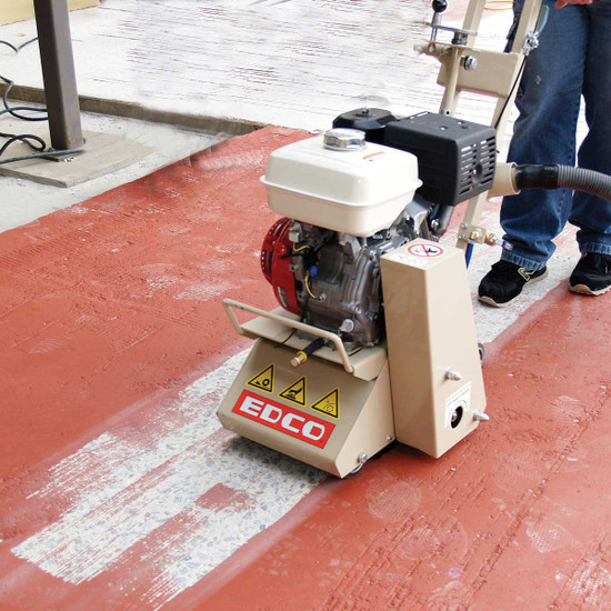 Preparing Concrete Surfaces with Edco CPM-8 Scarifier