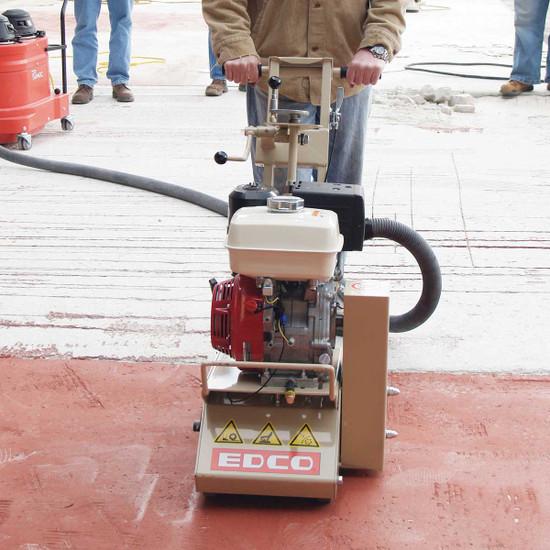 Edco CPM-8 Scarifier with Vacuum Port