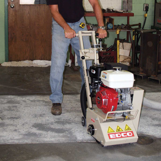 Edco CPM-8 Scarifier for Concrete Surface Preparation