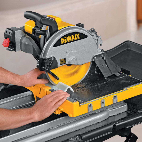 Dewalt D24000 wet cutting tile trim