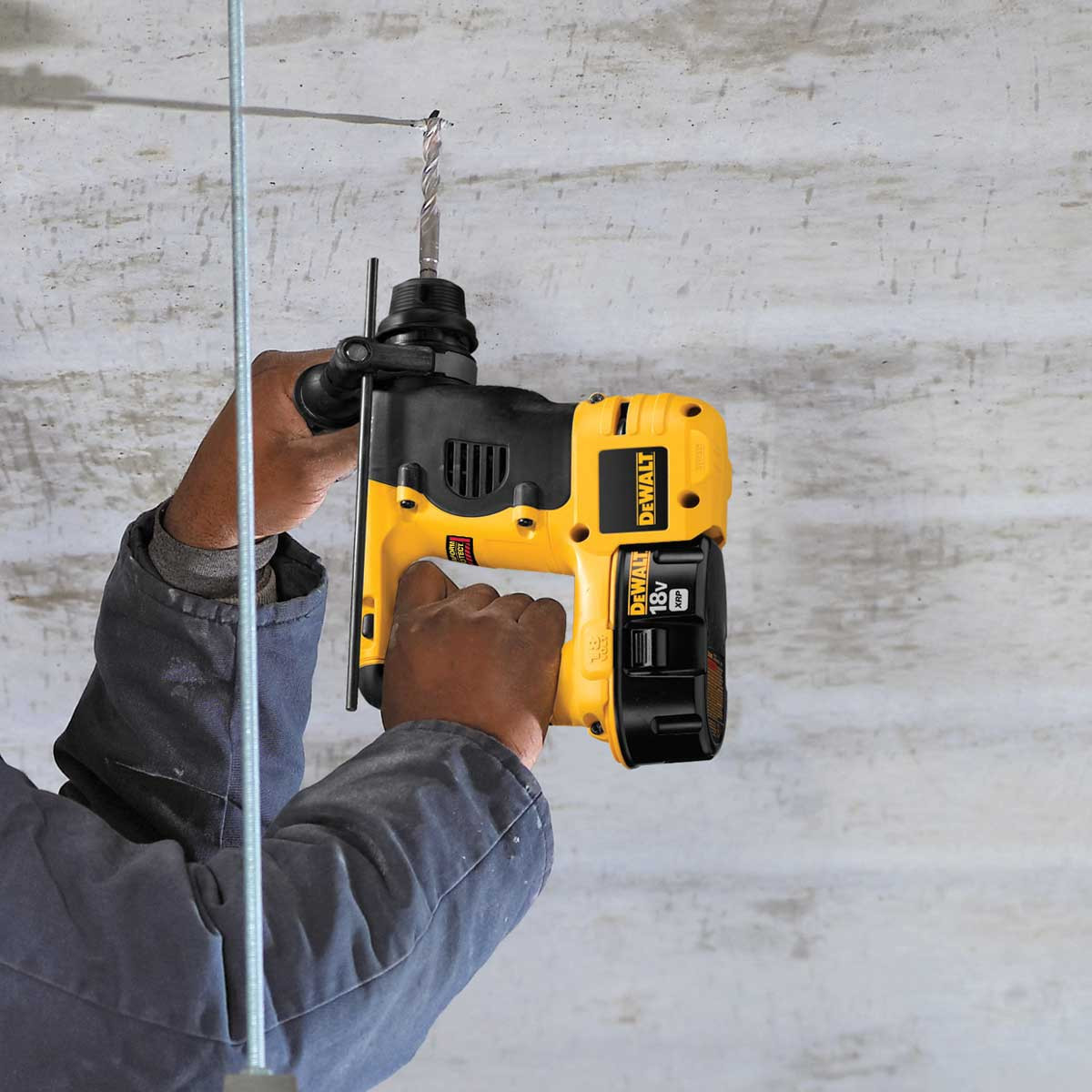 Dewalt corless hammer action