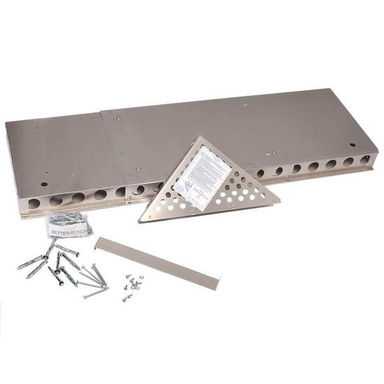 Innovis Floating Shower Bench Hardware