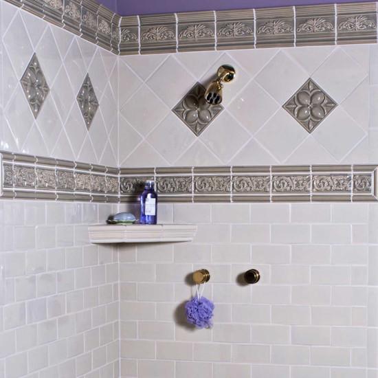 Custom Shower Corner Shelf