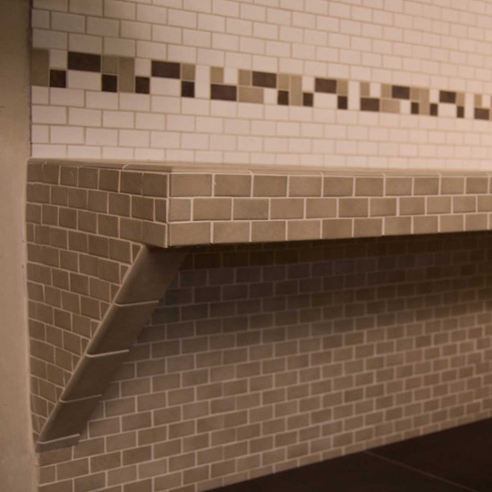 Better Bench Tiled Shower Seat