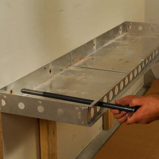 Floating Shower Bench Support