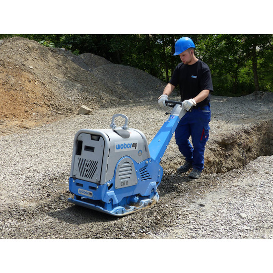 Weber mt CR6 Reversible Soil and Large Granular Compaction