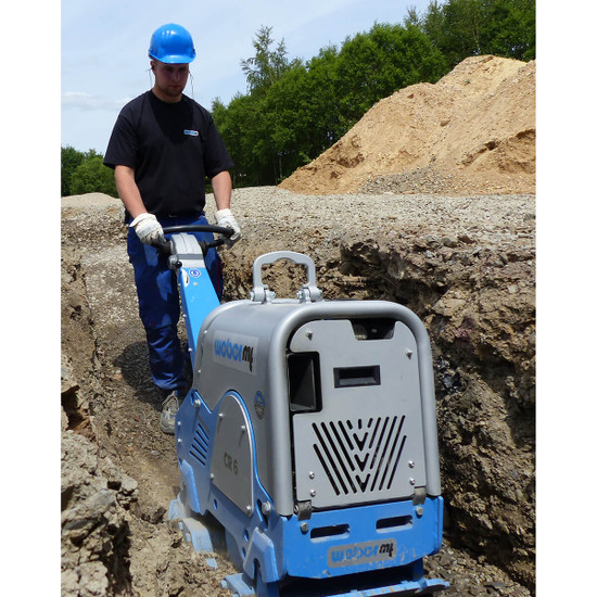 DIesel Powered Weber mt CR6 Trench Compactor