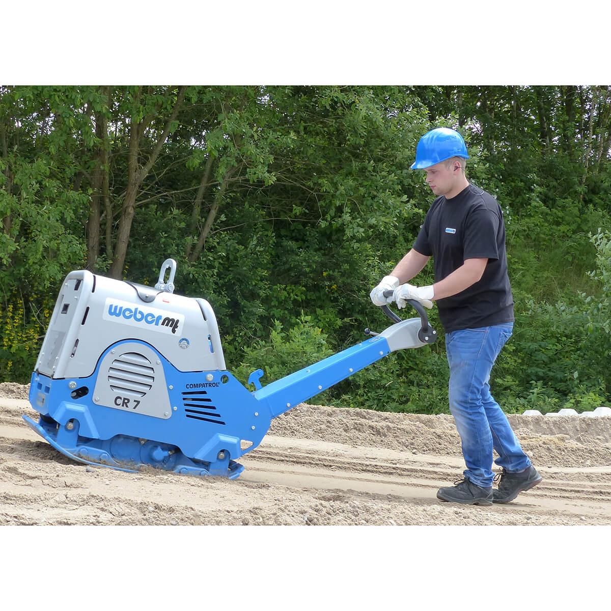 Weber Reversible CR7 Soil Compactor