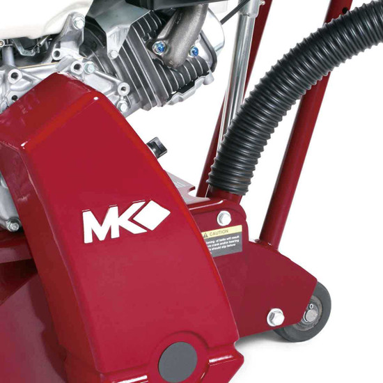 MK Diamond Scarifier with Vacuum Port
