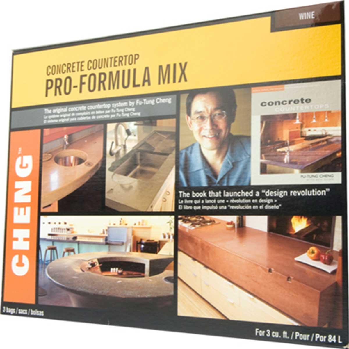 Cheng Concrete Pro Formula Mix Colors Contractors Direct