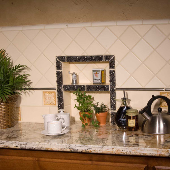 Recessed Tile Shelf Niche