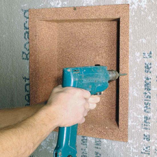 Installing Innovis Shower Niche
