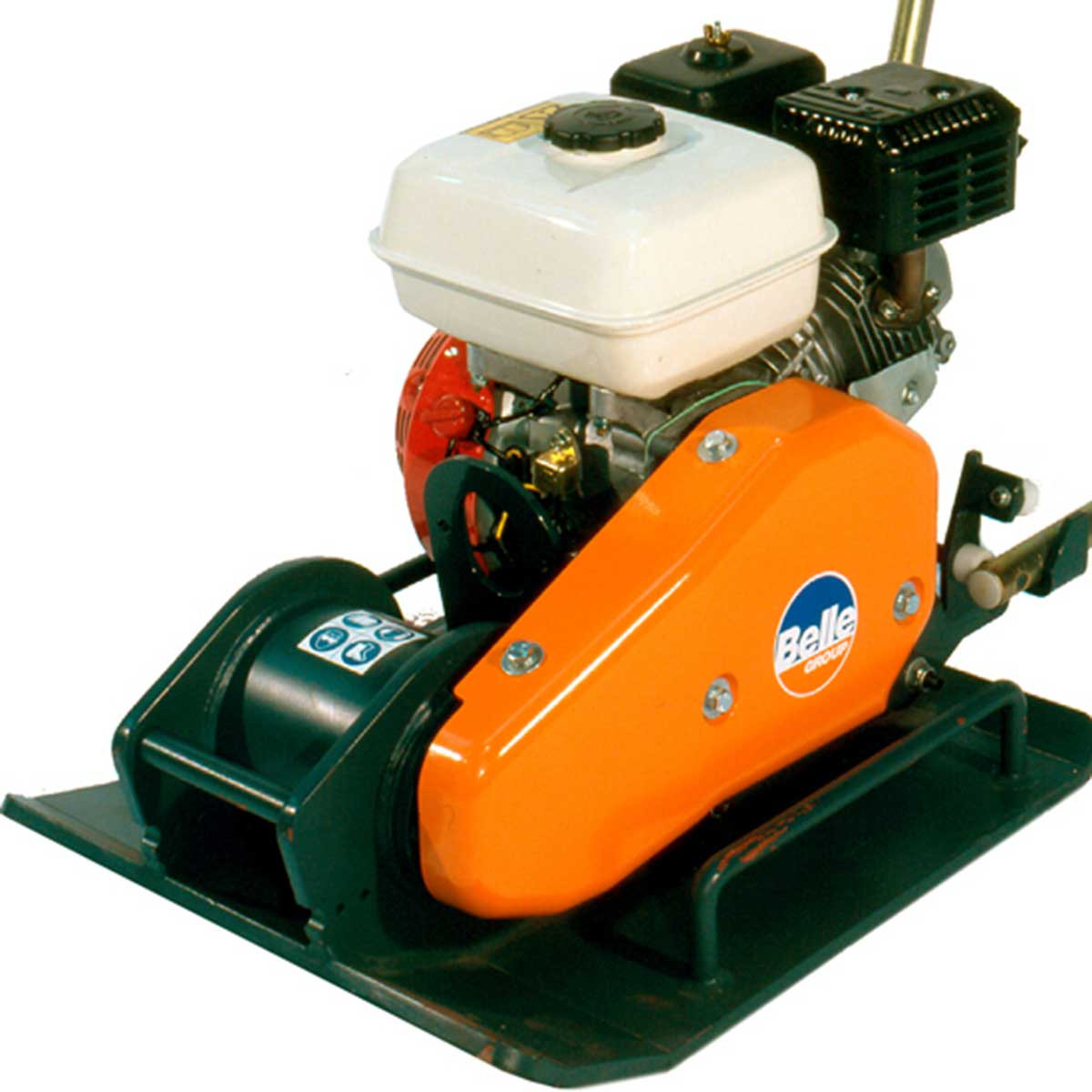 Altrad Belle plate compactor side