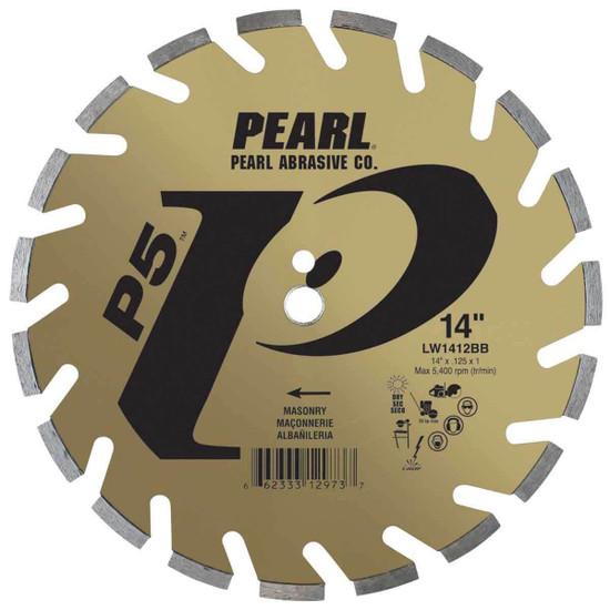 Pearl P5 14 inch Masonry Diamond Blade