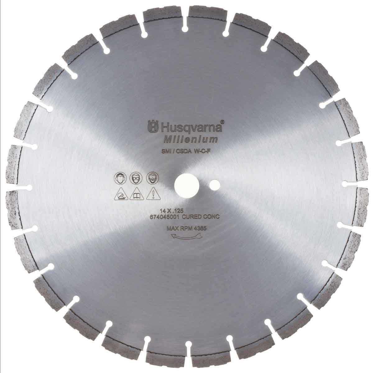 Husqvarna Millenium F810C Concrete Diamond Blades