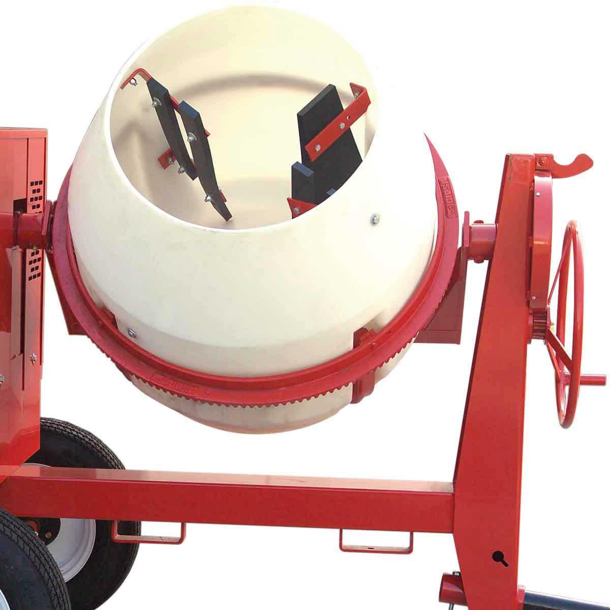 Multiquip concrete mixer drum