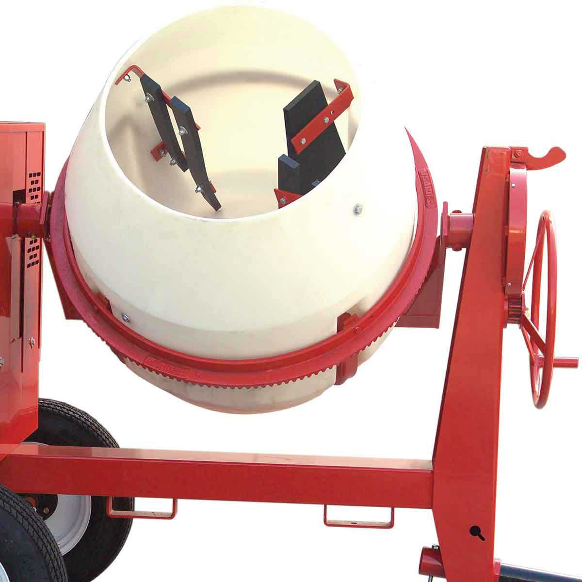 Multiquip concrete mixer drum