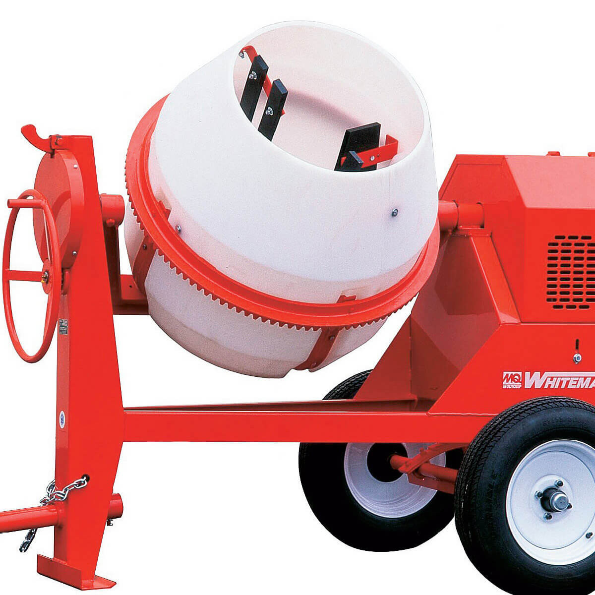 Multiquip Whiteman mixer tow bar