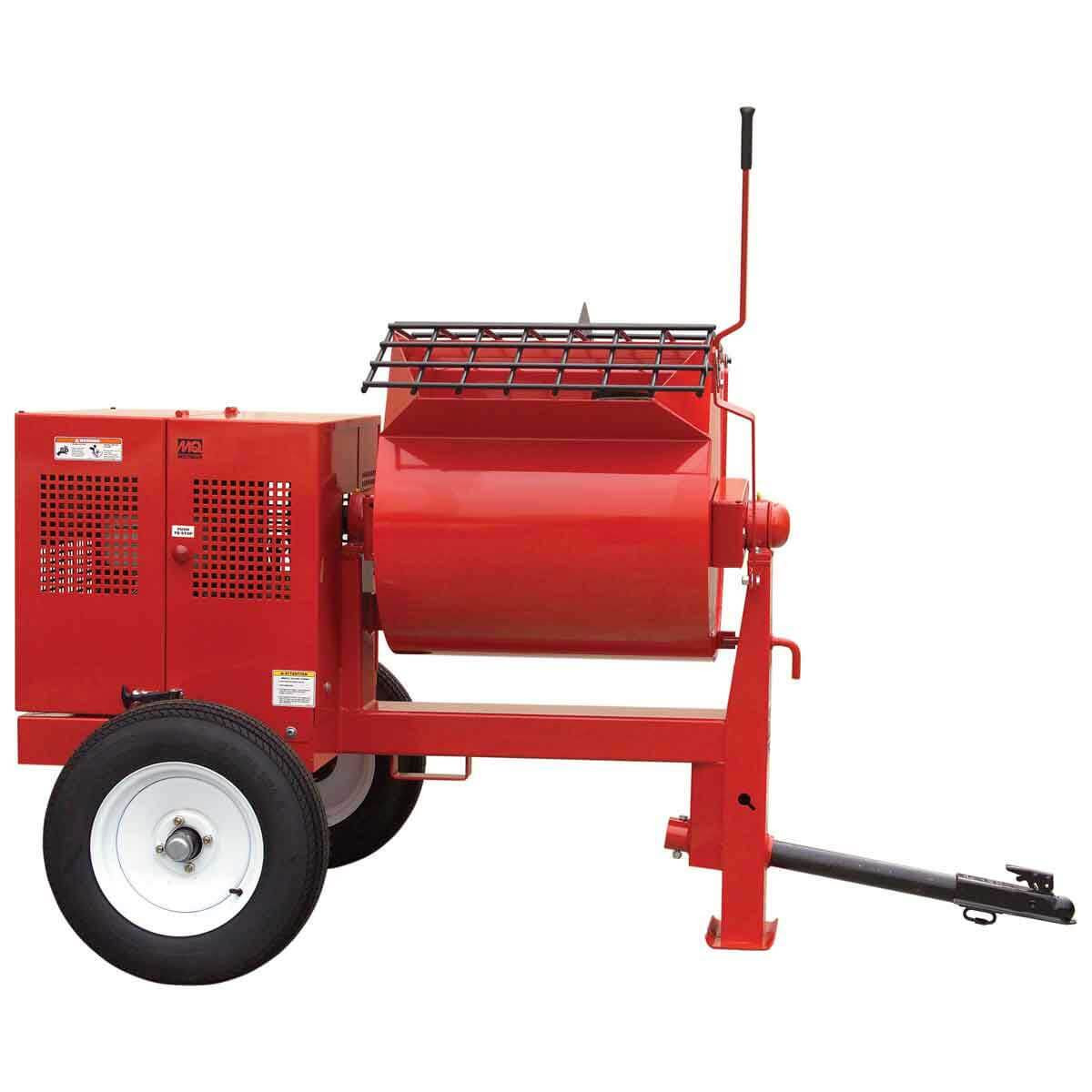 Multiquip Mortar mixer steel drum