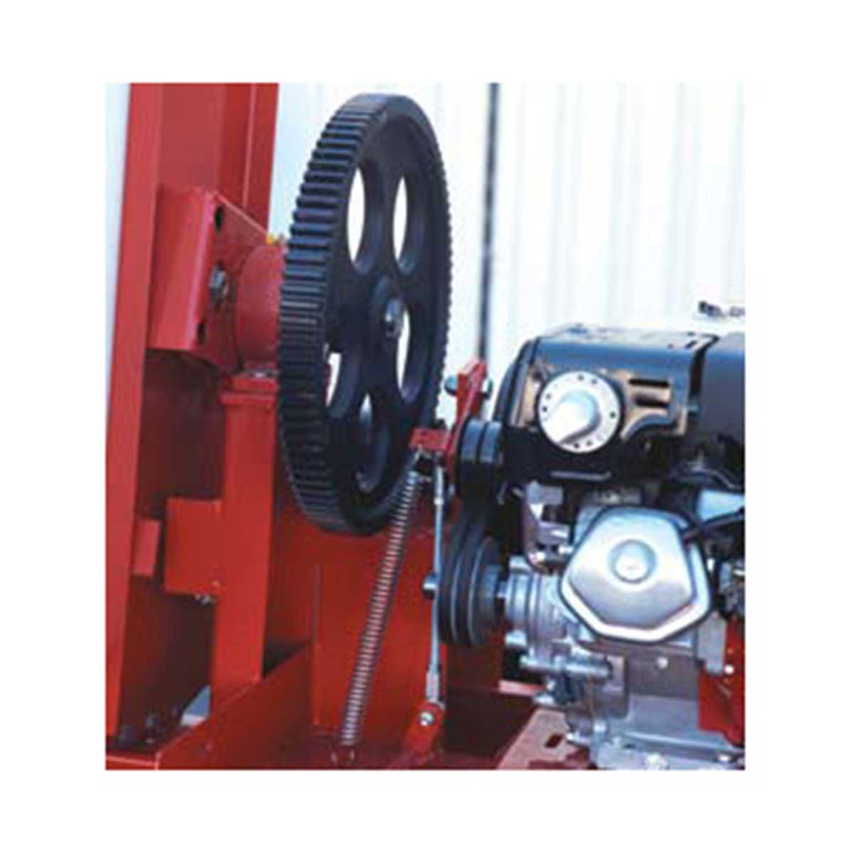 Multiquip Whiteman Steel Drum gears