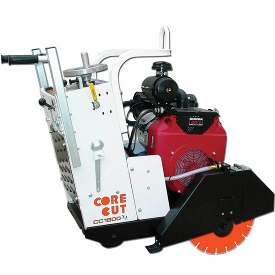 Core Cut CC1800XL Flat Saw with Diamond Blade