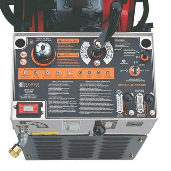 Core Cut CC1800XL Control Panel