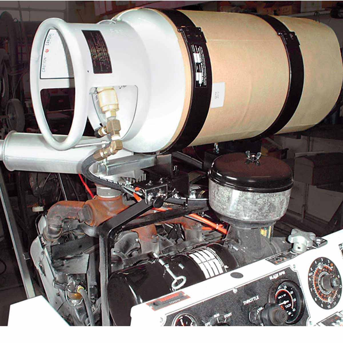 Core Cut CC2500 propane tank