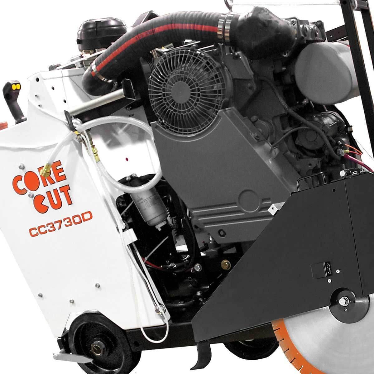 Core Cut CC3700 concrete saw motor