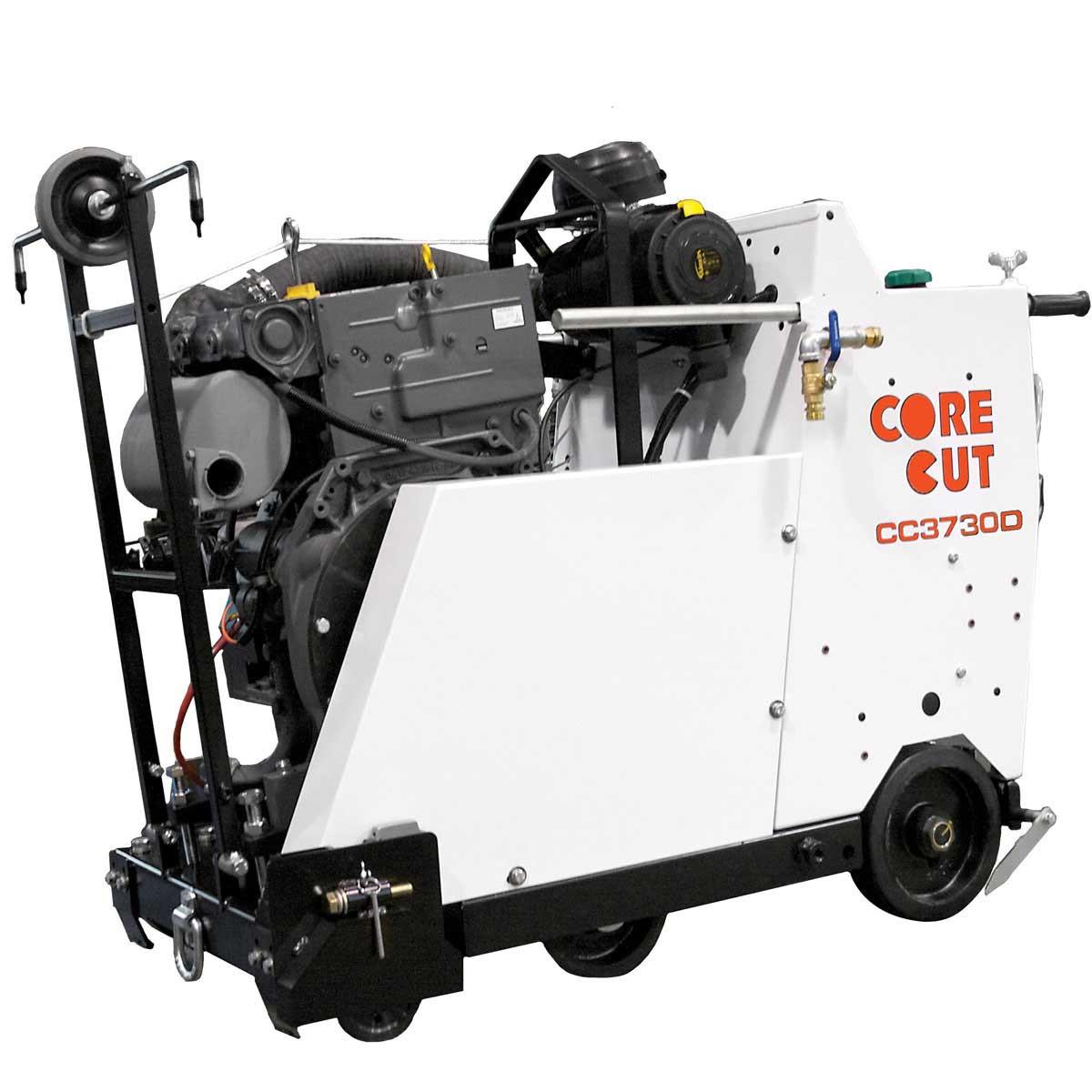 Core Cut concrete flat saw motor
