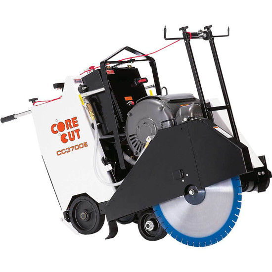 Core Cut CC3700E Electric Concrete Saw