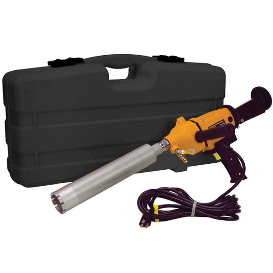 Multiquip CDM1H Core Drill with Diamond Bit and Carrying Case