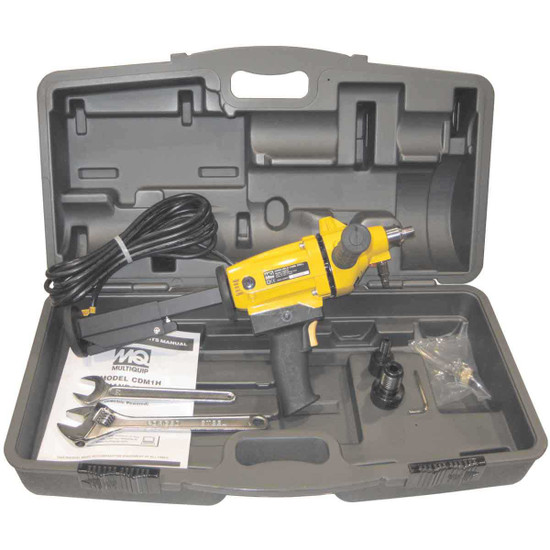 Multiquip CDM1H Core Drill with Molded Carrying Case