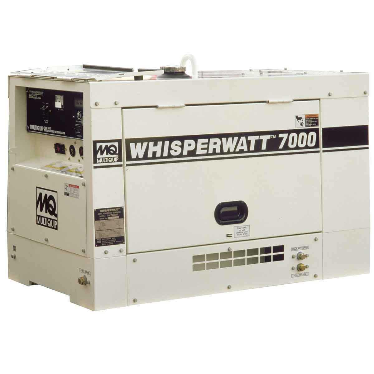 Multiquip Whisperwatt Diesel Powered Generator