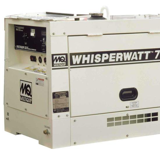 7000 watt multiquip diesel powered generator