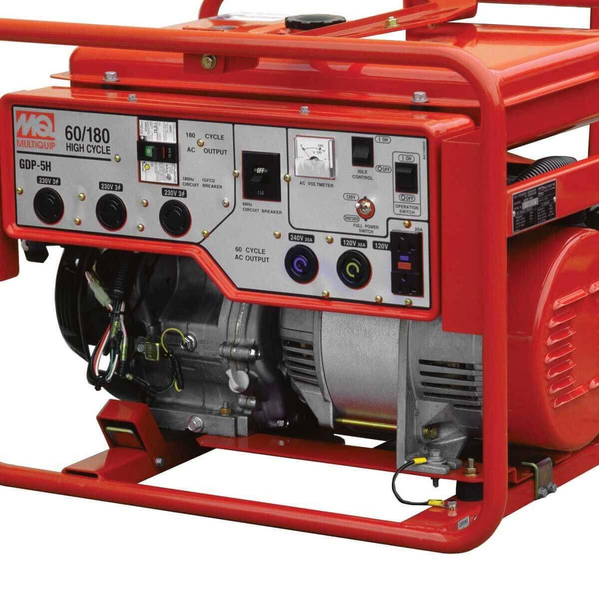 multiquip high-cycle generator