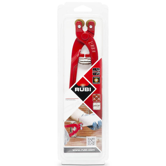 rubi porcelain tile nipper label