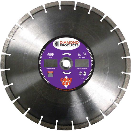 Core Cut Imperial Purple Dry Diamond Blades