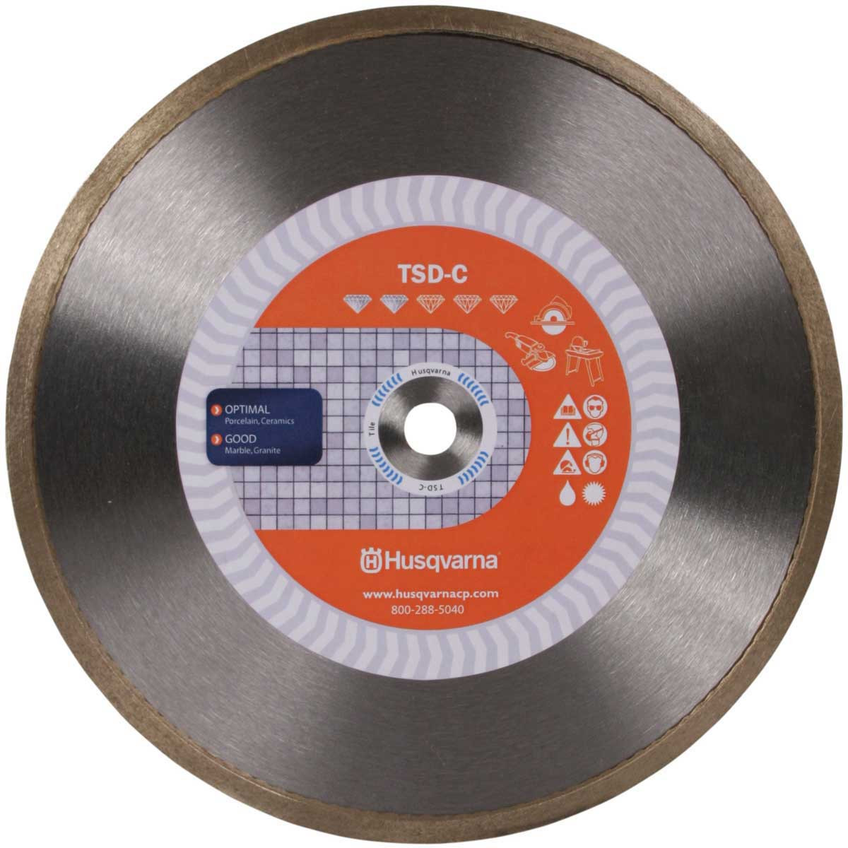 husqvarna tsd 4in continuous rim tile blade
