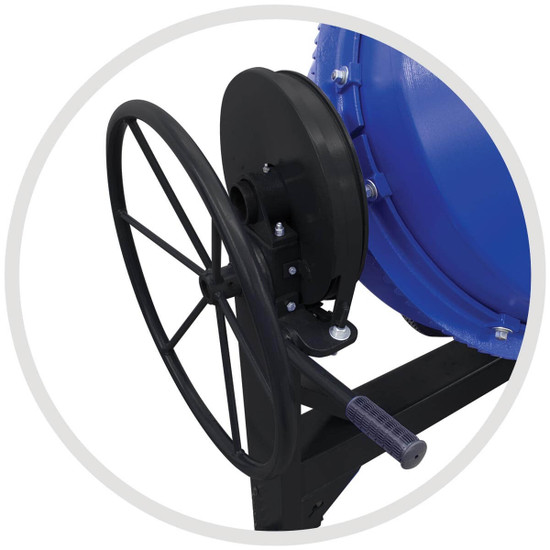 Marshalltown Concrete Mixer Crank Wheel