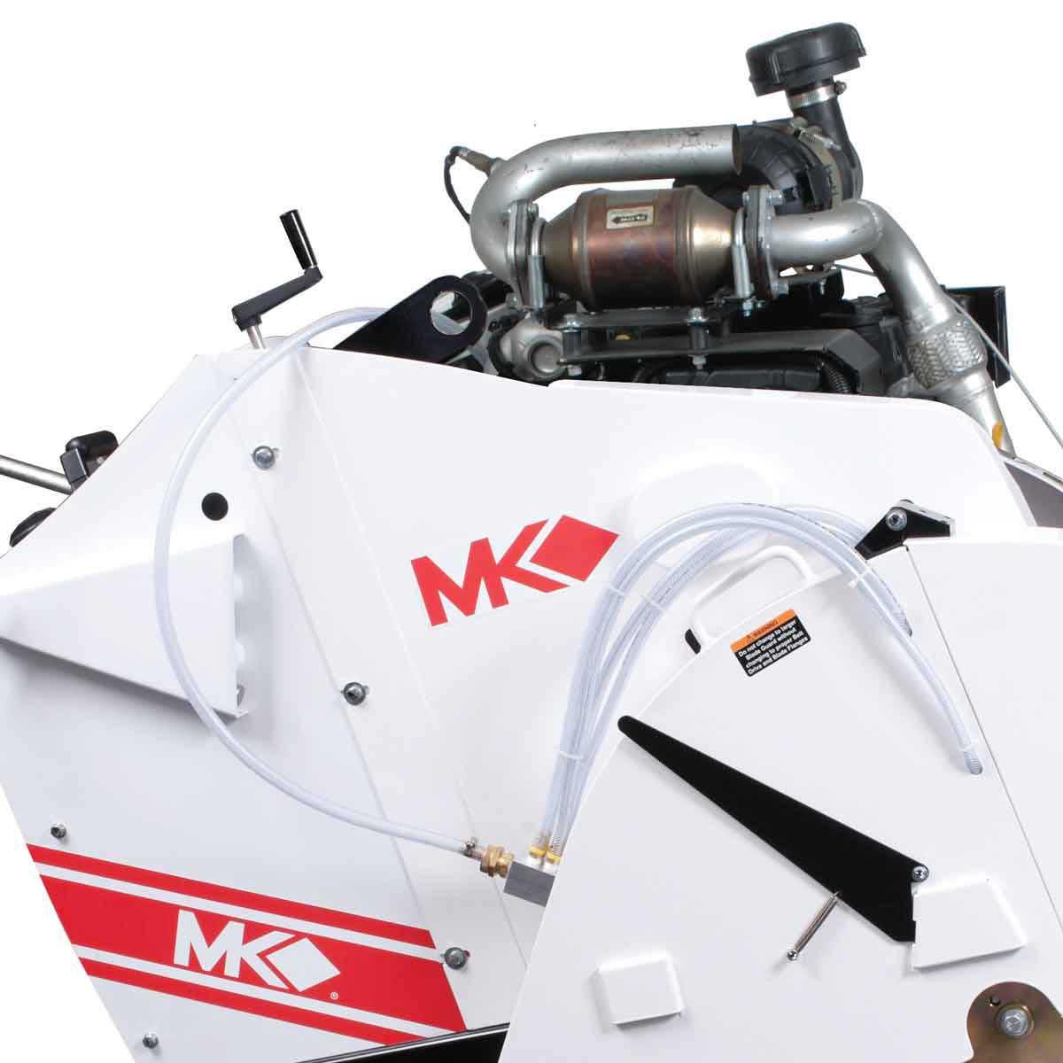 MK 4000 Concrete Saw motor