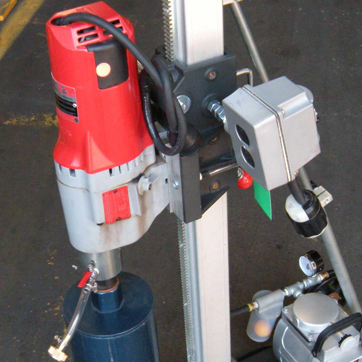 Milwaukee 4096 Motor stand mounted